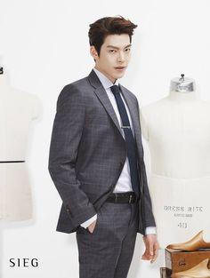 Kim Woo Bin (김우빈) for Sieg's Spring / Summer ad campaign (2014)