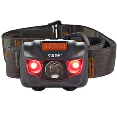 Headlamp LED Headlight 4 Mode Outdoor Flashlight Torch with Dimmable White Light Steady Red Light Adjustable and Water Resistant for Camping Hiking Walking Reading and More (3AAA Batteries Included) *** This is an Amazon Affiliate link. You can get more details by clicking on the image.