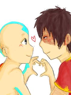 aang & zuko= bffs!! (& only bffs ppl!)... Get off ur high horse, I can see them as romantic Bffs if I want to. And ohhhhh I want to ;)