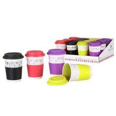 BOL - MUG - MAZAGRAN Tasse 'tasse' en céramique (420 cc) (Noir)