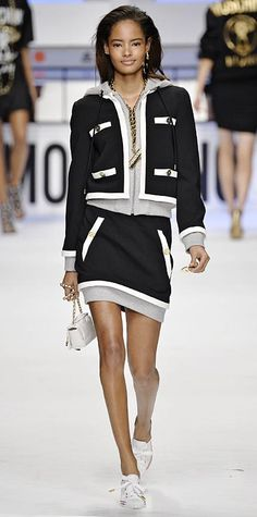 Runway Looks We Love: Moschino - Fall/Winter 2015 from #InStyle