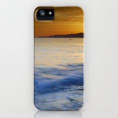 Sunset At The Mediterranean sea.  iPhone & iPod Case by Guido Montañés - $35.00