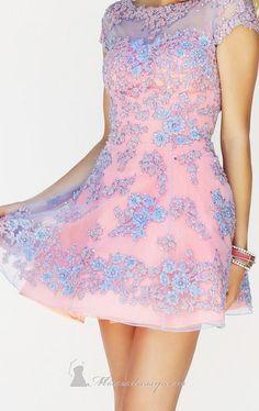 Sherri Hill 11063 Short Sleeved Dress