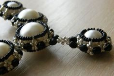 Schema - Covered or caged Beads ~ Seed Bead Tutorials
