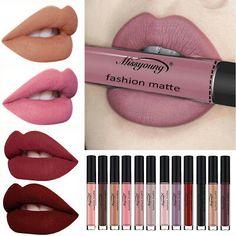 Beauty Essentials Beauty & Health Miss Rose Nude Lipstick 20 Colors Waterproof Vampire Brown Beauty Baby Lips Batom Matte Lipstick Makeup Tats Eugenie Margherita Perfect In Workmanship