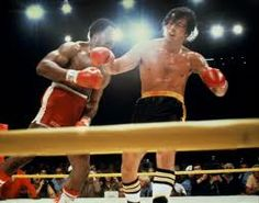 "He's all wrong for us, baby. I saw you beat that man like I never saw no man get beat before, and the man kept coming after you. Now, we don't need no man like that in our lives…(Tony ""Duke"" Evers)…...Rocky II"