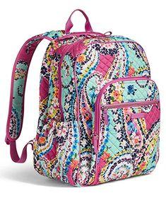 3cdaa507dd41 Vera Bradley Iconic Campus Backpack