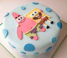 media-cache-ak0.pinimg.com 1200x 10 fe d5 10fed5a5da94eca21557ff5ca2dd868c.jpg Spongebob Torte, Sponge Bob Cake, Cake Decorating Piping, Cute Cakes, Fancy Cakes, Birthday Dinners, Cake Decorating Techniques, Character Cakes, Novelty Cakes