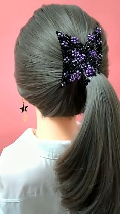 Hairstyle Tutorial 457 Hair can result in empathy or hate for a person. Which features of hair build sympathy and Easy Hairstyle Video, Easy Hairstyles For Long Hair, Braided Hairstyles, Ponytail Hairstyles Tutorial, Hair Upstyles, Magic Hair, Hair Videos, Hairstyles Videos, Hair Hacks