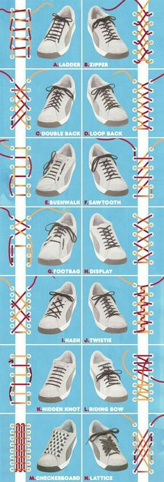 Lacing options
