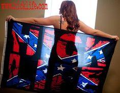 Hick Life on Everything!  Our 3'x5' Hick Life Flag.  We got in stock ready to go.
