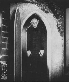 """Nosferatu - very good silent film, very iconic, and even more fun when you start to feel like actor """"Max Schrek"""" might have really been a vampire."""