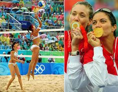 """2012 Olympians To Watch:  Kerri Walsh and  Misty May-Treanor  USA -- Beach Volleyball  Since teaming up in 2004, May-Treanor and Walsh have been called """"the greatest beach volleyball team of all time."""" After winning in Athens and Beijing, they are the only beach volleyball team to repeat as gold medalists. After not playing in 2009 due to injuries and the birth of Walsh's two sons, the duo took a disappointing second place in this year's volleyball world championship."""