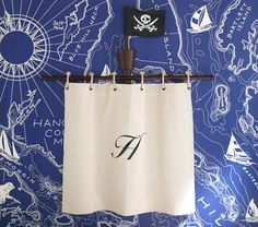 Pottery Barn Pirate Mast for kid's room
