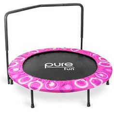 Provide your kids with hours of play and exercise with the Pure Fun Super Jumper Kids Trampoline in Blue. The Super Jumper offers a great way for your kids to stay fit, build motor skills and burn off some of that extra energy while having fun. Trampoline Reviews, Trampoline Workout, Backyard Trampoline, Trampoline Ideas, Fitness Trampoline, Trampolines, Toys For Little Kids, Kids Toys, Big Kids