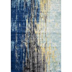 Anchor your living room seating group or define space in the den with this artfully crafted rug, featuring an abstract motif.  Product: