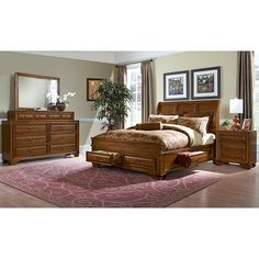 Bedroom Sets Value City serenity bedroom collection - value city furniture-queen platform