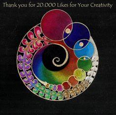 Gracias por los 20.000 me gusta por su Creatividad