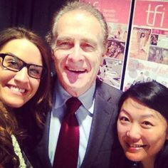 Kathy and Jess take a selfie with Toronto's Deputy Mayor Norm Kelly. (pinned by redwoodclassics.net)