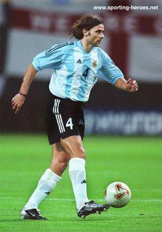 Mauricio Pochettino - Argentina - FIFA Copa del Mundo 2002 World Cup.