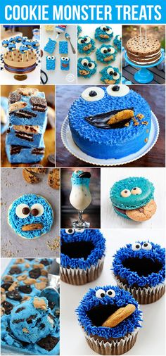 """""""Me want cookie. Me want ice cream with cookie. Me want fudge with cookie."""" No problem, Cookie Monster! You'll find all those and more in this round up of the top Cookie Monster treats around the web. Planning a party or just want to surprise your little one (or adult husband, no judging)? Take a [...]"""