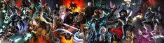 Marvel Universe - X-Men by Aspersio.deviantart.com