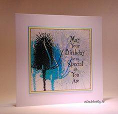 Verjaardagskaart - Birthday card