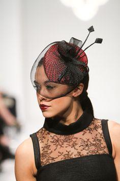 GALVIN-ized Headwear (Boston hat designer Marie Galvin) Perfection