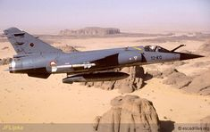 One of French Armée de l'Air's Dassault Mirage F-1Cs of the twelve that were regularly detached to bases in Africa.