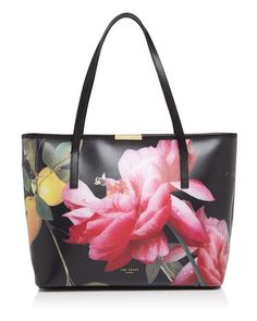 f64b1431875ef3 Ted Baker Large Joanie Citrus Bloom Tote Handbags - Bloomingdale s