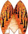 Oh my Alfabetos!: Alfabeto animado de bosque otoñal.