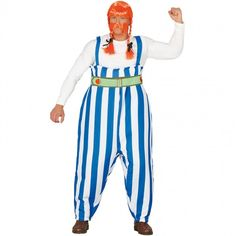 Disfraz de Obélix Galo para adulto #disfraces #carnaval #novedades2019 Ronald Mcdonald, Pants, Dresses, Style, Products, Fashion, Shopping, Masquerade Party Themes, Adult Costumes