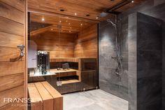 Kellarikerroksen kylpyhuone- ja saunaremontti - johon kaikki on tehty mittatilauksena ovia-, kalusteita-, laseja-, kaivoja sekä lauteita myöden. Bathtub, Bathroom, Instagram, Standing Bath, Washroom, Bathtubs, Bath Tube, Full Bath, Bath