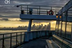 """This image titled """"Morning View from the Ferry"""" was taken while heading to Bainbridge Island.  Photo Credit- Gary Hamburgh"""