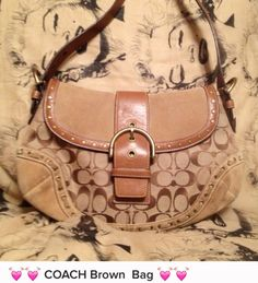 COACH Really Nice Brown Bag
