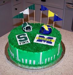 Michigan vs. Michigan State by Joy of Cake, via Flickr