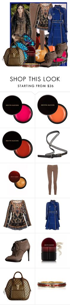 """""""Earth Colors Fashion Set"""" by linda-caricofe ❤ liked on Polyvore featuring Kevyn Aucoin, Riccardo Forconi, Ralph Lauren, J Brand, Sacai, Burberry, Artisan, Alexis Bittar, top handle bags and jbrand"""