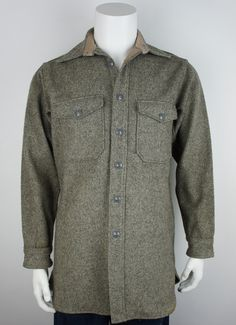 3233b11d3d1 Vintage 1950 s Woolrich CPO Jacket. Hunting Jackets