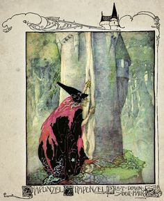 by Anne Anderson from 'Anne Anderson's Old, Old Fairy Tales' (1935).