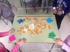 #ABN juego de mesa ABN los números amigos (12 modos de juego distintos) Math For Kids, Maths, Ideas Para, Shape, Board Games For Kids, Math Games, Comprehension Exercises