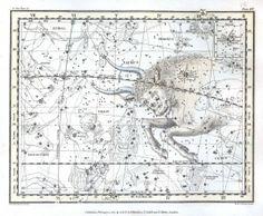 Astronomy - Celestial Atlas - Jamieson 1822 - Plate 14