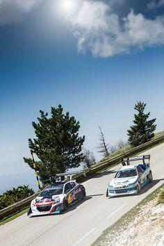 Peugeot climb Pike Peak Mont ventoux