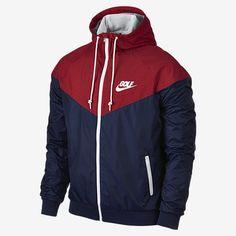 d2ebedd5ea Nike Men s Windrunner Colorblocked Jacket - Blue 2XL