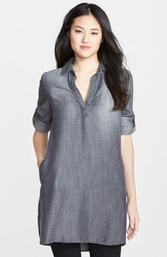 Dear Stichfix: I would really like a tunic like this Side Stitch Chambray Tunic at #Nordstrom