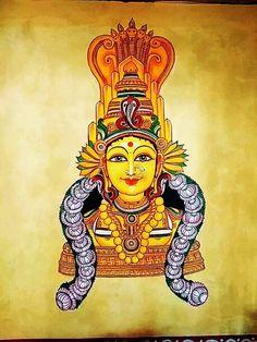 Shri Ganesh Images, Durga Images, Lakshmi Images, Indian Goddess, Goddess Art, Durga Goddess, Mysore Painting, 3d Wall Painting, Indian Art Gallery