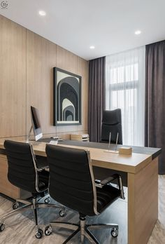Law Office Decor, Small Office Design, Modern Office Decor, Home Office, Office Interior Design, Office Interiors, Lawyer Office, Ceo Office, Executive Office