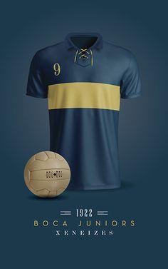 Boca Juniors Soccer T-Shirts / Printable / Wall Art / Poster / Decor Football Shirt Designs, Old Logo, Ralph Lauren Style, 3d T Shirts, World Of Sports, Football Jerseys, Fashion Branding, Cristiano Ronaldo, Belle Photo