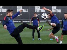 FOOTBALL -  FC Barcelona - Entrenament amb tots els disponibles i Xavi - http://lefootball.fr/fc-barcelona-entrenament-amb-tots-els-disponibles-i-xavi/