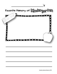 school memory books on pinterest memory books all about me and kindergarten memory books. Black Bedroom Furniture Sets. Home Design Ideas