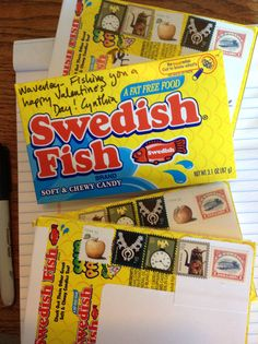 1000 images about biz fun team ideas mailables on for Swedish fish candy canes